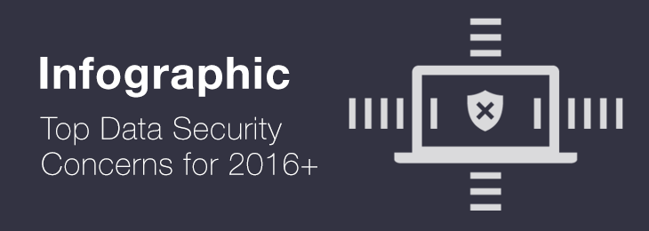 Infographic – Top Data Security Concerns for 2016+