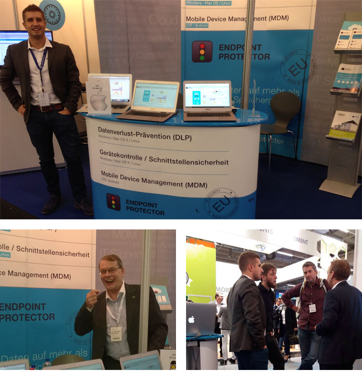 @ IT-SA 2016, Nuremberg, Germany
