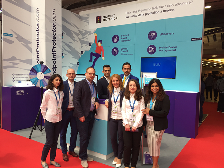 Endpoint Protector team at Infosec 2017