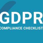 GDPR Compliane checklist