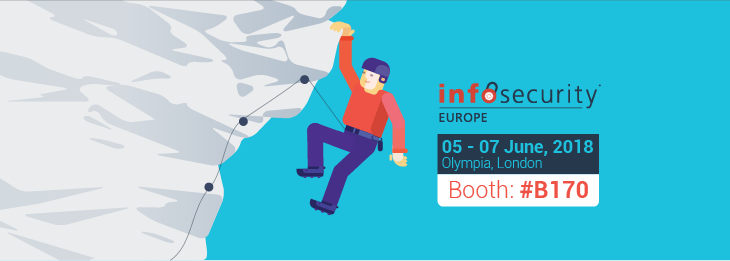 It's time for Infosecurity Europe 2018! Will you be there?