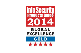 My Endpoint Protector, Gold Winner in the SaaS/Cloud Solutions category, at the 2014 Global Excellence Awards