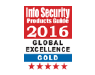 Endpoint Protector 4、Info Security PGの Global Excellence Awards2016で金賞受賞(2年連続)