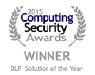 Endpoint Protector 4、Computing Security Awards 2015で、DLP Solution of the Year Awardを受賞(2年連続 )