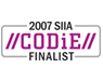 Software & Information Industry Association (SIIA)のCODiE Software Newcomer of the Year 2007 にノミネート