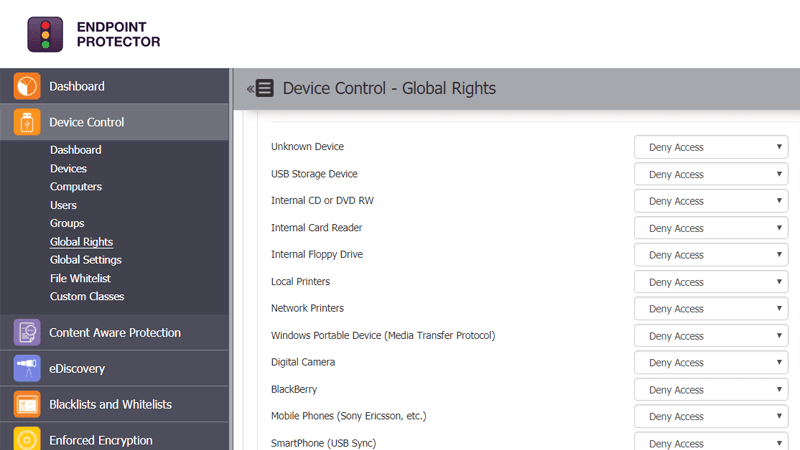 Device Control