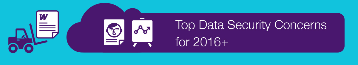 Top Data Security Concerns for 2016+