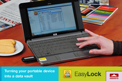 EasyLock – Turning your portable device into a data vault | Encryption - CoSoSys