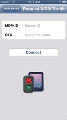 iPhone 5 request profile